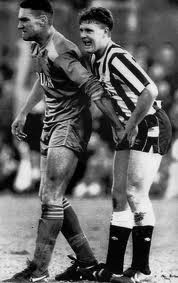 Vinny Jones the balls grabber